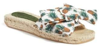 Jeffrey Campbell Estela Bow Tie Slide Sandal