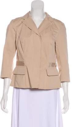 Nina Ricci Notch-Lapel Button-Up Blazer w/ Tags