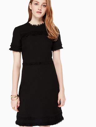 Kate Spade Western Tweed Dress, Black - Size 00