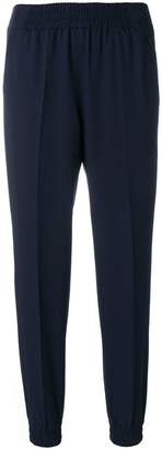 Blumarine elasticated slim-fit trousers