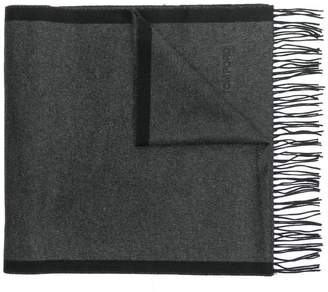 Tom Ford logo embroidered scarf