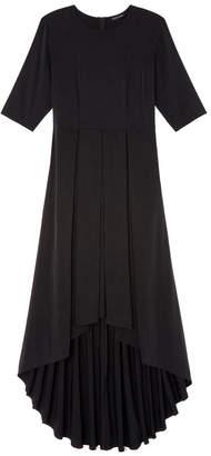 Goop X Universal Standard x Universal Standard Brushed-Back Hi-Low Dress