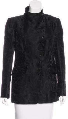 Gucci Jacquard Structured Jacket