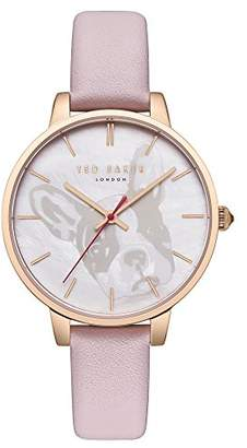 Ted Baker Women's 'Kate' Quartz Stainless Steel and Leather Watch