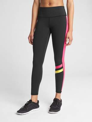 Gap GFast High Rise Multicolor Colorblock Blackout Leggings