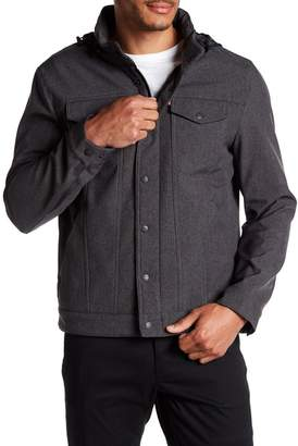 Levi's Funnel Neck Hooded Jacket
