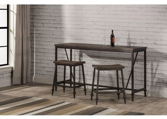 Hillsdale Furniture Trevino 3-Piece Counter Height Table/Bar Set