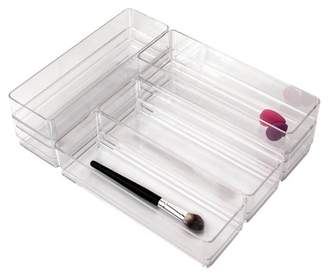 "US Acrylic 9""x3""x2"" Stackable Drawer Organizer - 6pk"