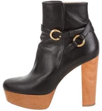 Stella McCartney Vegan Platform Ankle Boots