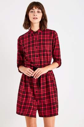 Jack Wills Burley Check Shirt Dress