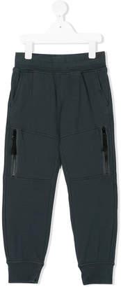 Stone Island Junior zipped legs sweatpants