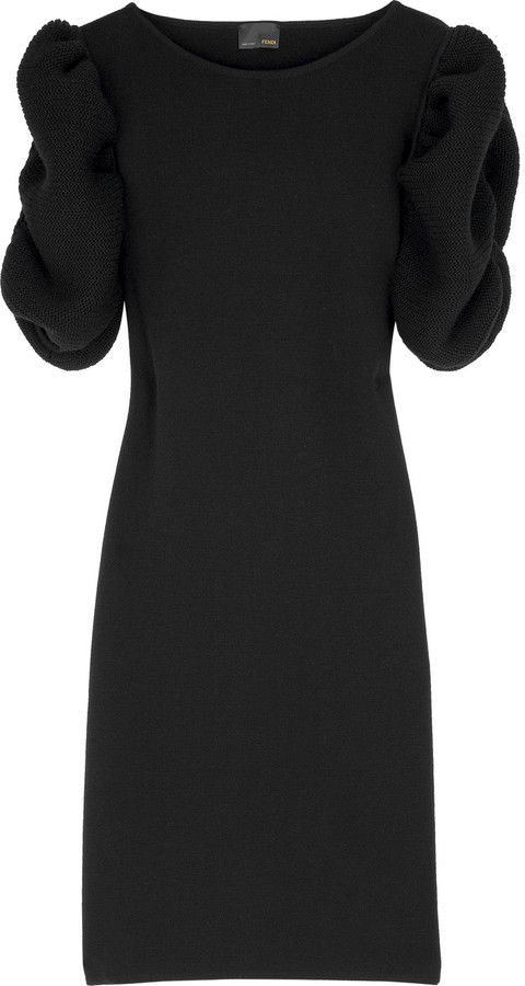 Fendi Fine merino dress