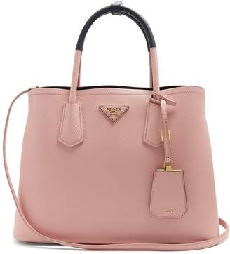 Com Prada Double Saffiano Leather Bag