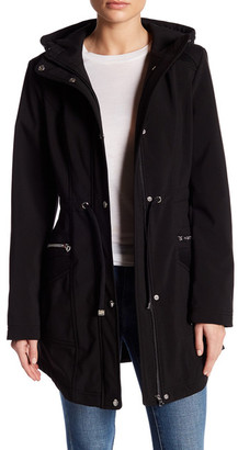 Jessica Simpson Soft Shell Jacket with Hood $150 thestylecure.com