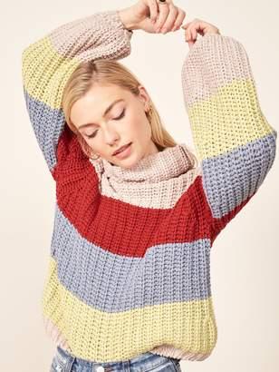 Reformation La Ligne X Color-Me-Happy Sweater