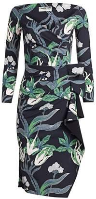Chiara Boni Silveria Floral Wrap Dress