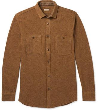 KAPITAL Mélange Wool Overshirt