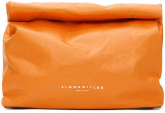 Simon Miller Orange Large Lunch Bag 30 Clutch