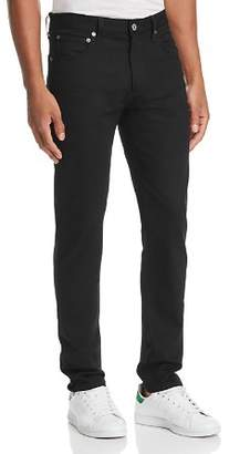 A Gold E AGOLDE Blade Skinny Fit Jeans in Black Raw
