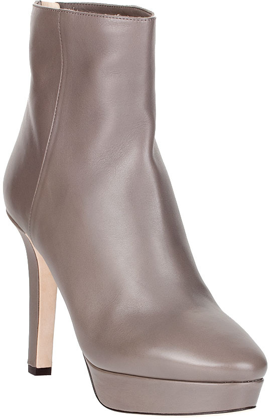 Jimmy Choo Might taupe ankle boot