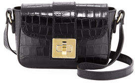 Mario Valentino Valentino By Yasmine Cocco Leather Crossbody Bag