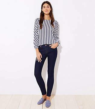 LOFT Petite Modern Skinny Jeans in Dark Rinse Wash