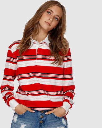 Billabong Rugby Long Sleeve Tee
