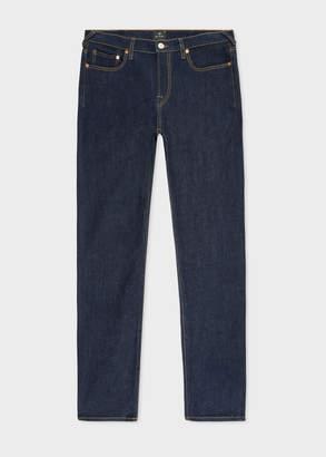 Paul Smith Men's Slim-Fit Indigo Rinse 'Authentic Comfort Stretch' Denim Jeans