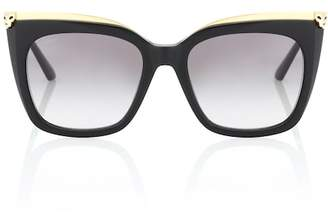 eeebb0c7932 Cartier Eyewear Collection Panthère de cat-eye sunglasses