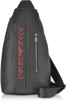 830c1ea27f7e Emporio Armani Signature Embossed Eco Leather Men s Backpack