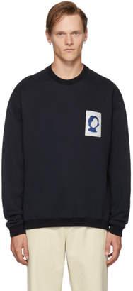 Oamc Navy Frank Sweatshirt