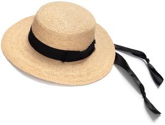 Justine Hats Wide Brim Boater Hat