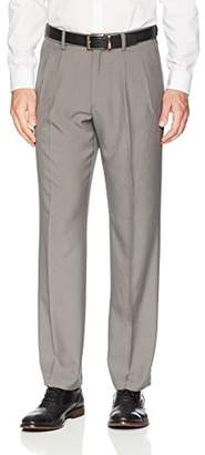 Franklin Tailored Men's Expandable Waist Classic-Fit Pleated Dress Pants