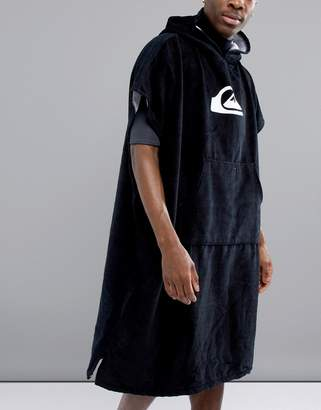 Quiksilver Hoody Towel In Black
