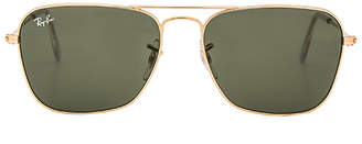 Ray-Ban Caravan in Metallic Gold. $150 thestylecure.com