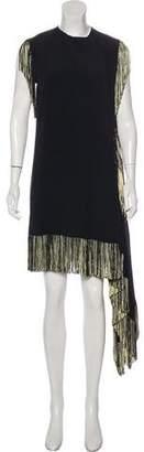 Leroy Veronique Sleeveless Fringe Dress w/ Tags