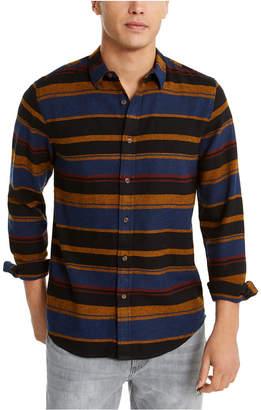 American Rag Men Fay Stripe Flannel Shirt