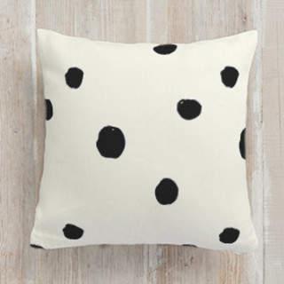 Bold Risky Doodles Square Pillow