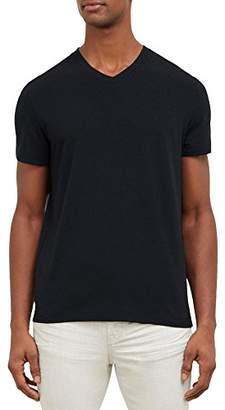 Kenneth Cole New York Men's Cotton Spandex V-Neck T-Shirt