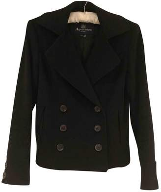 Aquascutum London Black Wool Jacket for Women