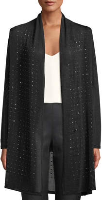 Berek Sparkle Time Long Cardigan, Plus Size