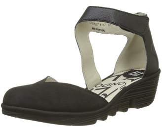 Fly London Womens Pats 801 Nubuck Shoes
