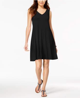 Style&Co. Style & Co Petite Cross-Back Swing Dress