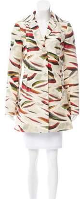 Pollini Printed Lightweight Coat