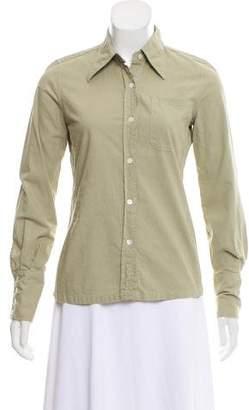 Maison Margiela Long Sleeve Button-Up Top w/ Tags