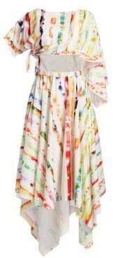 Rosie Assoulin Triangle Midi Dress