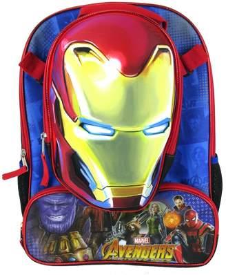 Kids Marvel Avengers: Infinity War Iron Man Backpack & Lunchbox Set
