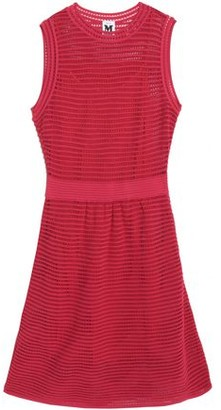 M Missoni Pointelle And Stretch-Knit Dress