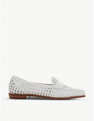 Dune Govenn woven leather loafers