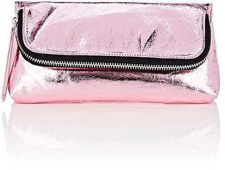 Barneys New York Women's Leather Foldover Pouch